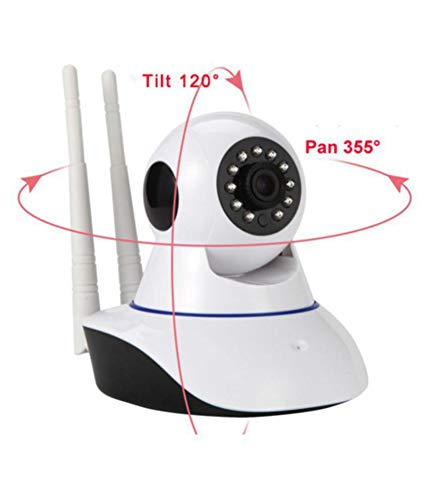 V380 HD 720P Night Vision Wireless WiFi Ip Camera with 2 Way Audio and Upto 64 GB SD Card Support