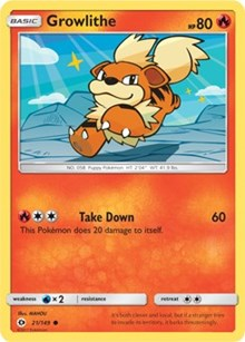 Growlithe (21) [SM Base Set] - Duel Kingdom | Duel Kingdom