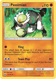 Passimian (73) [SM Base Set] - Duel Kingdom | Duel Kingdom