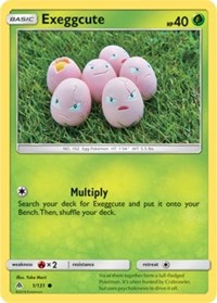 Exeggcute (1) [SM - Forbidden Light] - Duel Kingdom