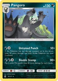 Pangoro (78) [SM - Forbidden Light] - Duel Kingdom
