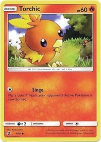 Torchic (4) [Dragon Majesty] - Duel Kingdom