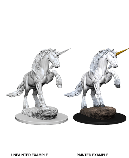 Pathfinder Deep Cuts Unpainted Miniatures: Unicorn - Duel Kingdom