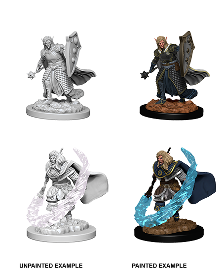 D&D Nolzur's Marvelous Miniatures: Elf Cleric - Duel Kingdom