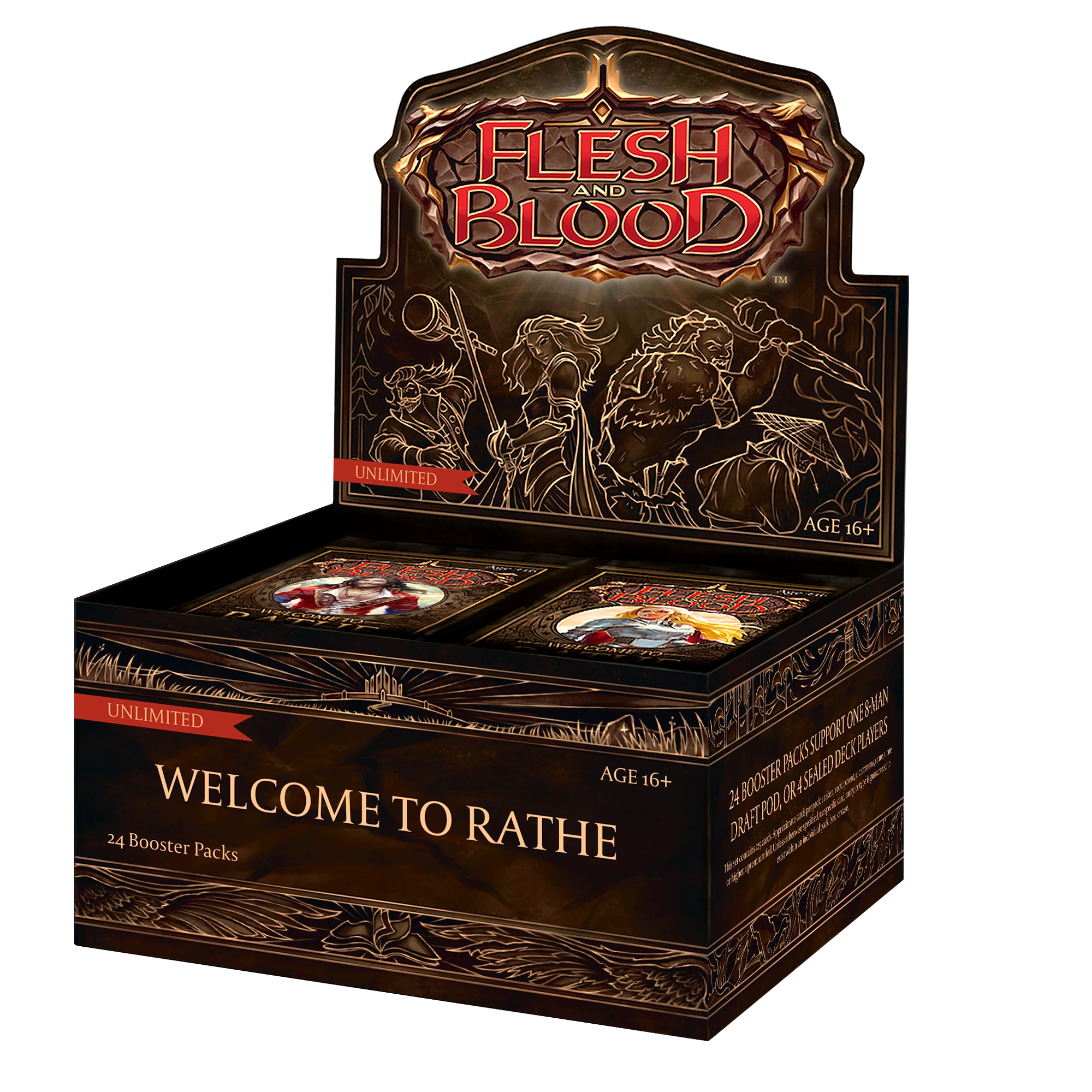 Flesh and Blood: Welcome to Rathe Booster Box (Unlimited) - Duel Kingdom | Duel Kingdom