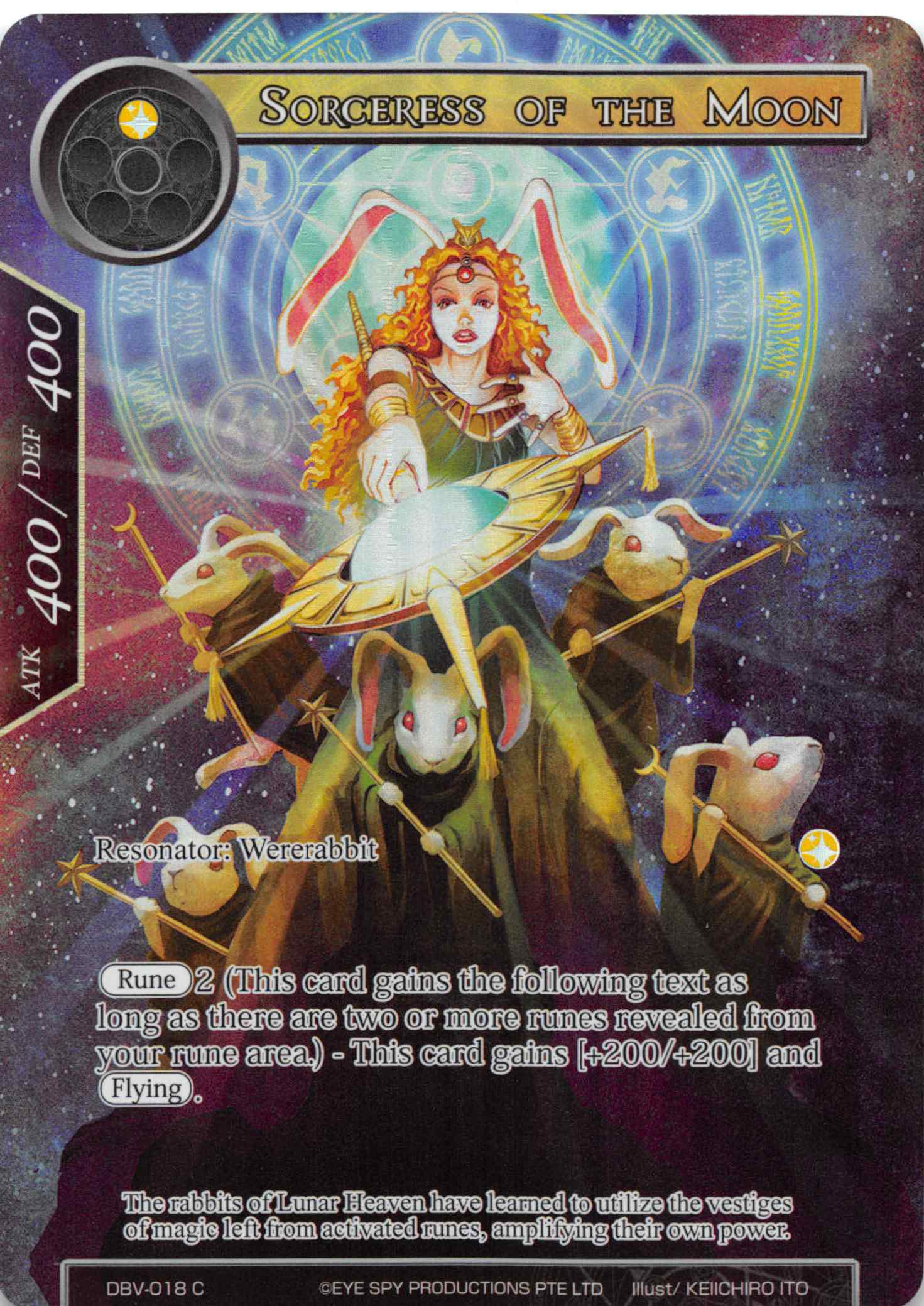 Sorceress of the Moon (Full Art) - Duel Kingdom | Duel Kingdom
