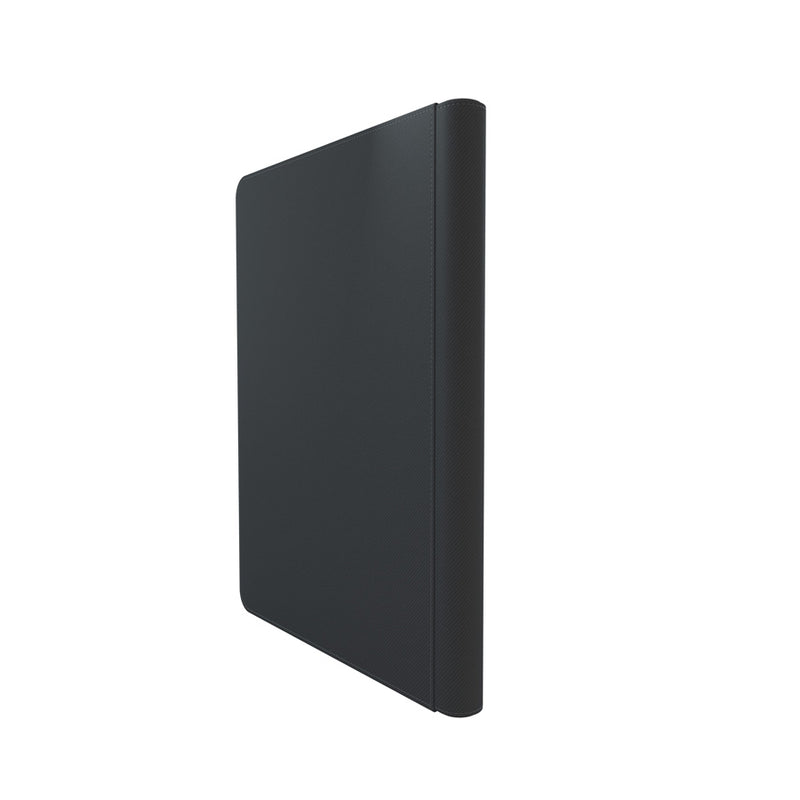 GameGenic Zip-Up Album 18 Pocket Binder - Black (9 pockets per page) - Duel Kingdom