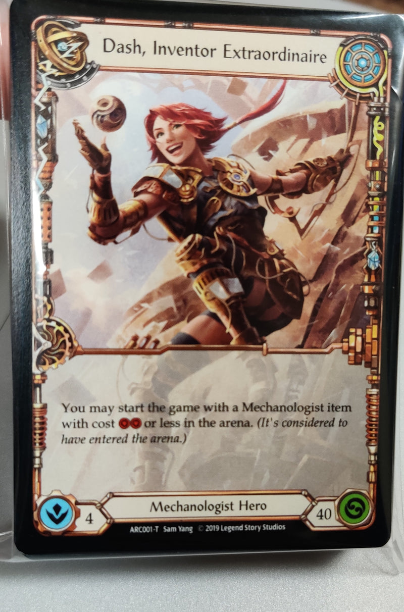 Flesh and Blood: Mechanologist - Dash Hero Deck (Duel Kingdom Original) - Duel Kingdom