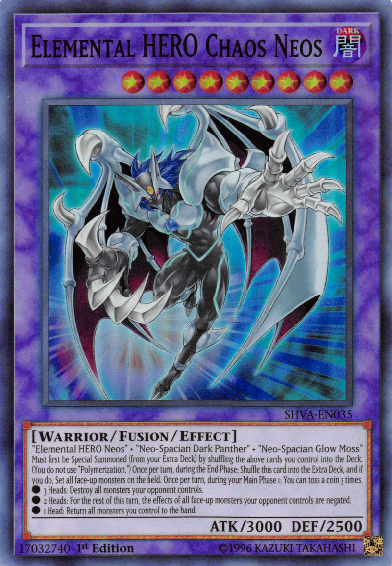 Elemental HERO Chaos Neos [SHVA-EN035] Super Rare - Duel Kingdom