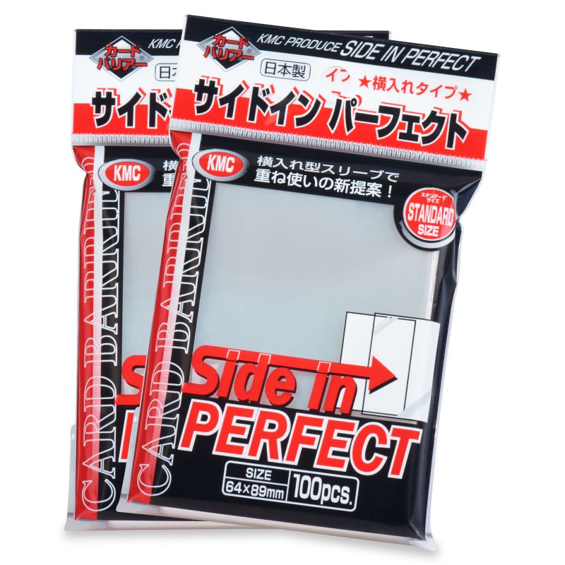 100ct KMC Side In Perfect Fit Standard Size Deck Protectors - Duel Kingdom | Duel Kingdom