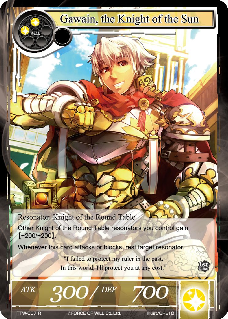 Gawain, the Knight of the Sun - Duel Kingdom
