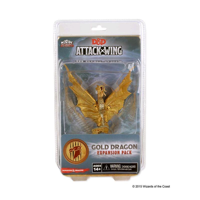 Dungeons & Dragons - Attack Wing Wave 4 Gold Dragon Expansion Pack - Duel Kingdom
