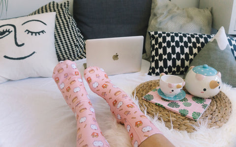 Elodie Junk Food Socks