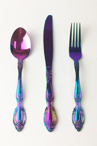 Rainbow Flatware - Set of 3