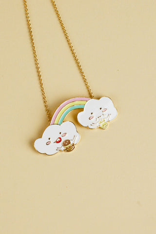 Rainbow Duo Necklace