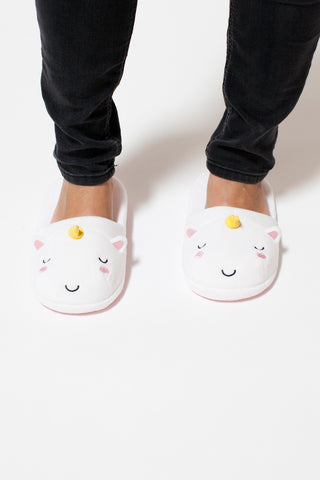 Elodie Unicorn Slide Slippers