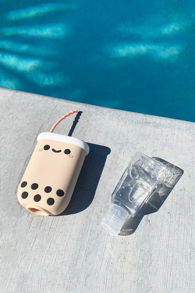 Pearl Boba Hand Sanitizer Holder