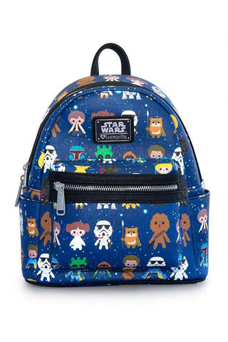 Loungefly x Star Wars Faux Leather Mini Backpack