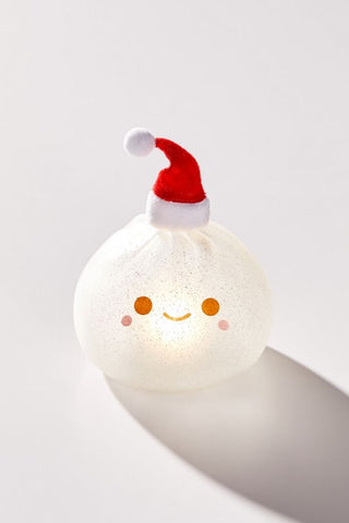 Limited Edition: Lil B Dumpling Ambient Light (Sparkle w/ Santa Hat)