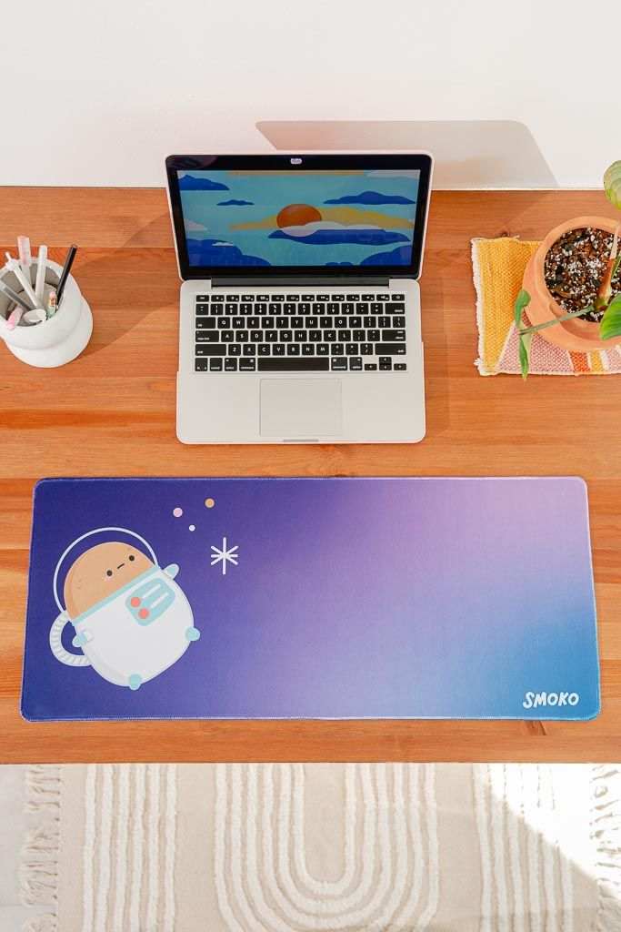 Astro Tayto Potato Extended Mouse Pad