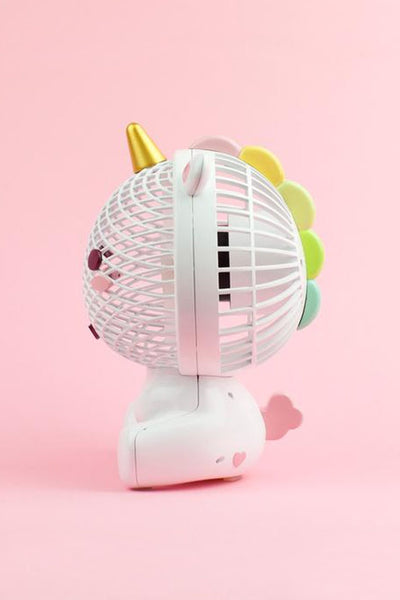 Elodie Unicorn Usb Fan Pre Order Smoko Inc