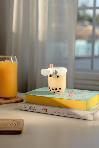 Pearl Boba Tea USB Portable Fan