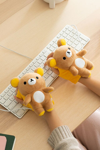 Rilakkuma USB Wired Handwarmers