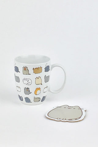 Pusheen Mug & Coaster Set