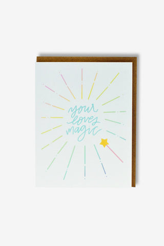 Your Love's Magic Greeting Card