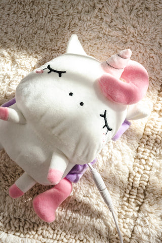 Angie Unicorn USB Wired Handwarmers