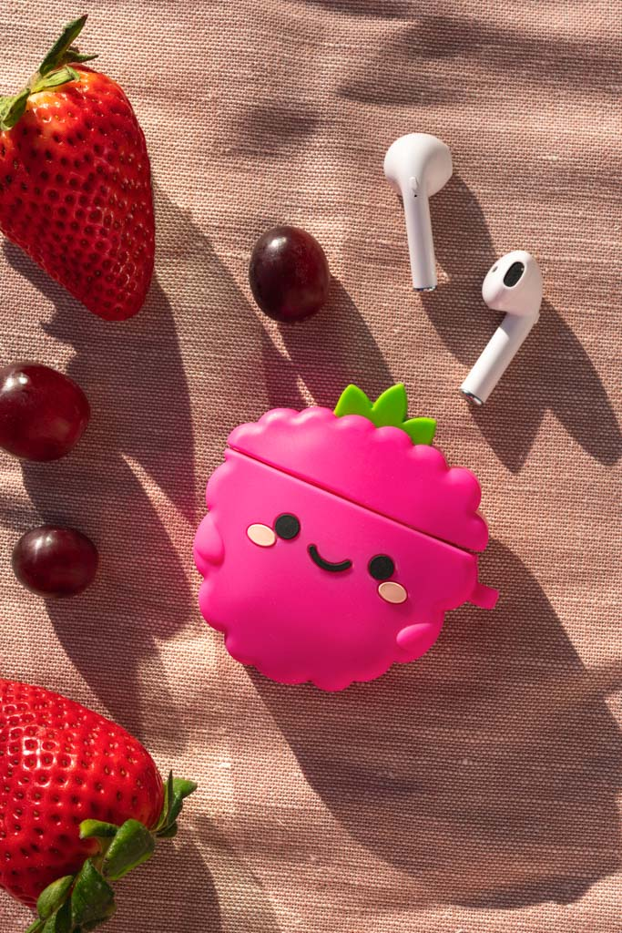 Perry Raspberry Airpod Case