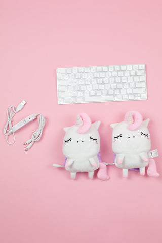 Angie Unicorn USB Wired Handwarmers Pre-Order