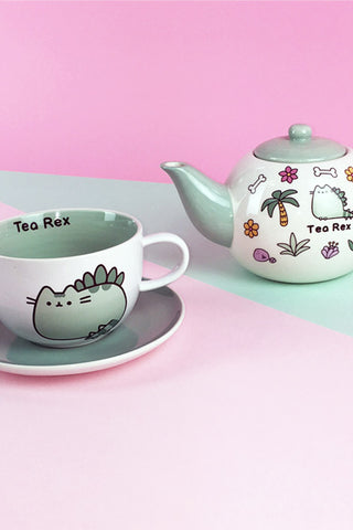 Pusheen Tea-Rex Cup & Saucer
