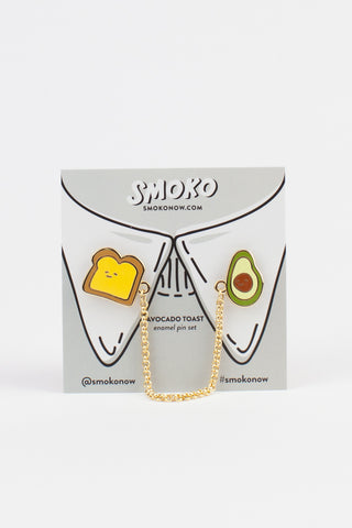 Toast & Avocado Enamel Pin