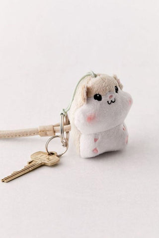 Hamster Vibrating Keychain
