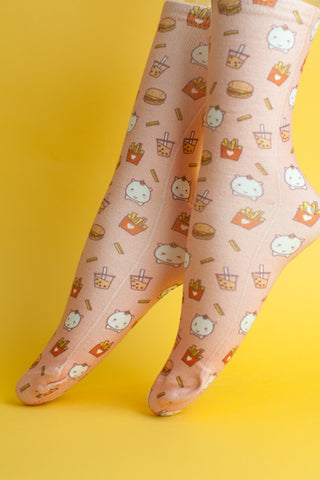 Elodie Unicorn Junkfood Socks
