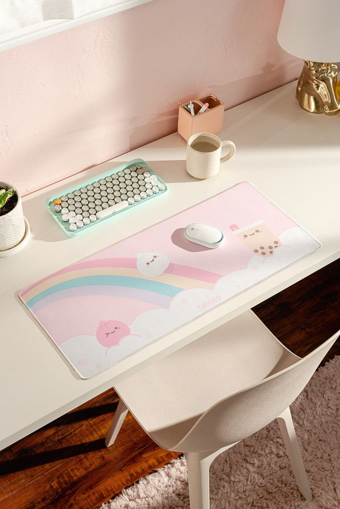Kawaii Foodie Extended Mouse Pad