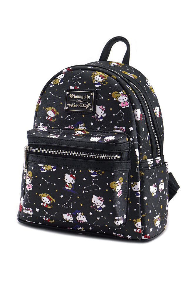 7172a70fd2e5 Loungefly x Hello Kitty Constellation Faux Leather Mini Backpack