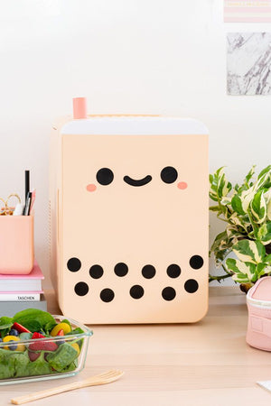Pearl Boba Tea Mini Fridge 10 L (Limited Edition) ❄️