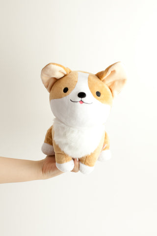 Milo Corgi Pet Me Plush