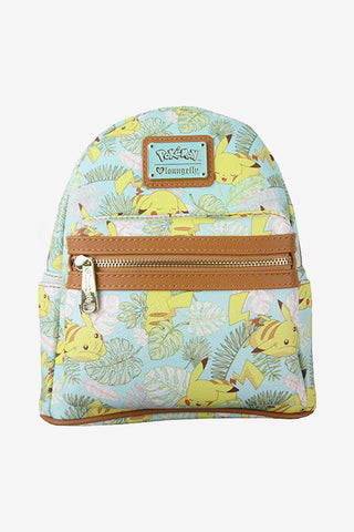 Loungefly x Pokemon Pikachu Leaves Mini Backpack