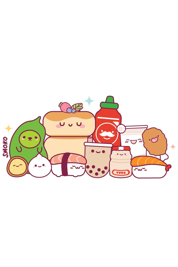 Kawaii Snacks T-Shirt