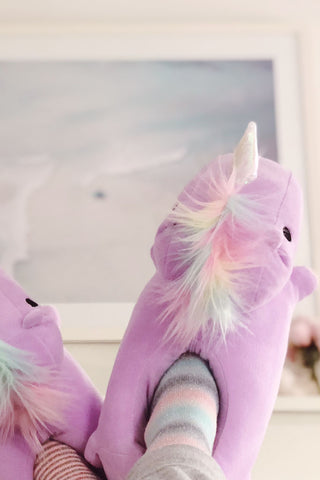 Unicorn USB Heated Slippers Pre-order