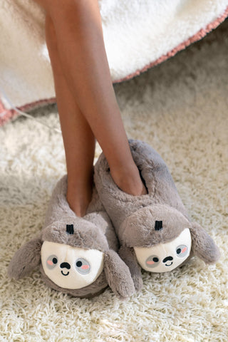 Sloan Sloth USB Heated Slippers 🦥