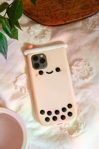 Pearl Boba Iphone 12 Case
