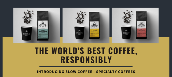 Specialty Coffees By Slow Coffee