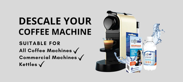 MACHINE MAINTENANCE - How & Why Should You Descale Your Coffee Machine?