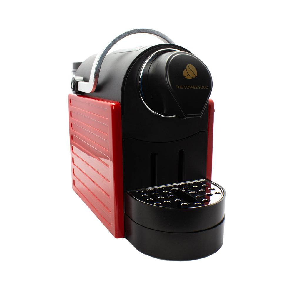 TCS Coffee Machine - Red