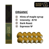 The Coffee Souq Organic Bundle Of 4 - Nespresso® Compatible