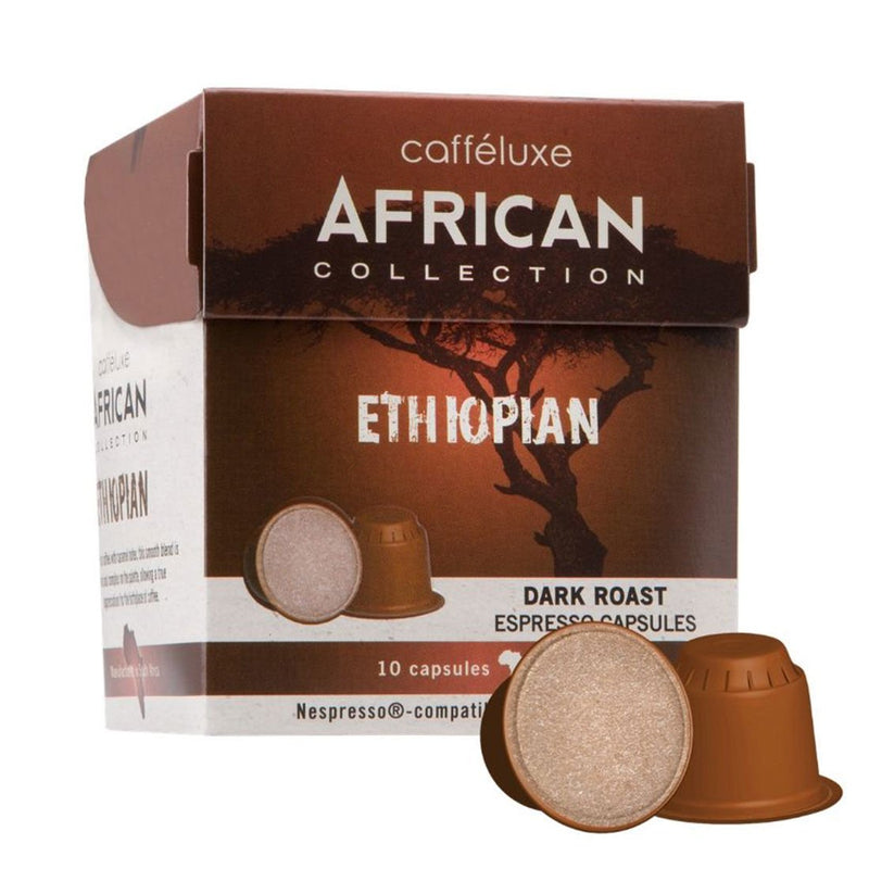 Nespresso® Compatible African Collection Ethiopian 10s